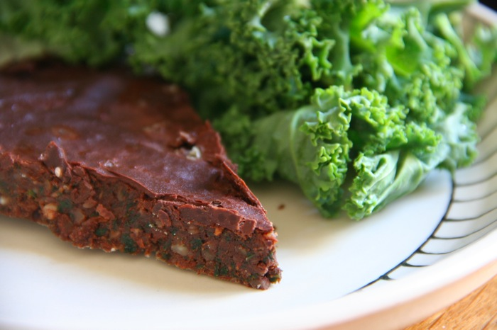 chocolate kale cake