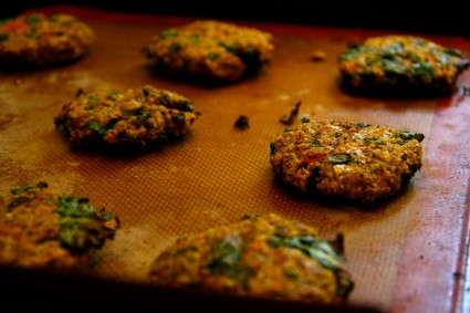 Winter Squash And Kale Millet Burgers Foodie Underground