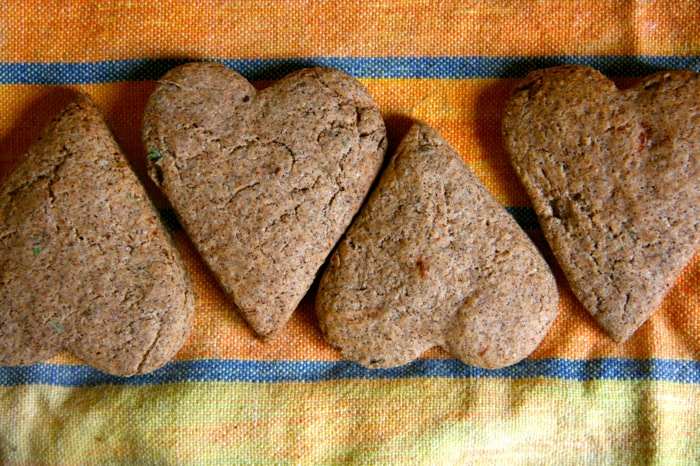 Cinnamon and Thyme Buckwheat Scones