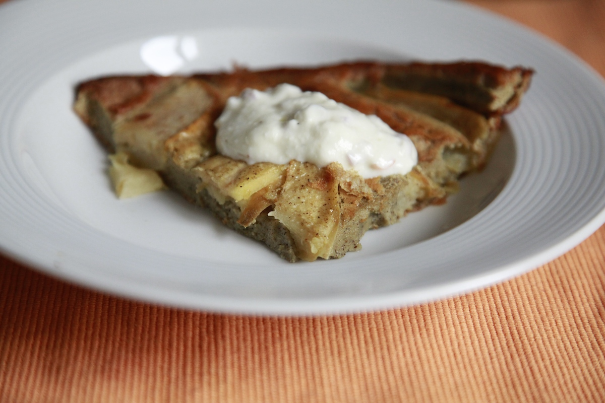Savory Apple and Turnip Buckwheat Dutch Baby on Foodie Underground, photo by Anna Brones