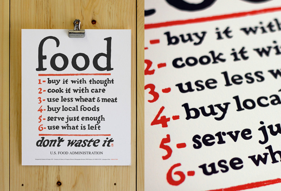 food rules poster