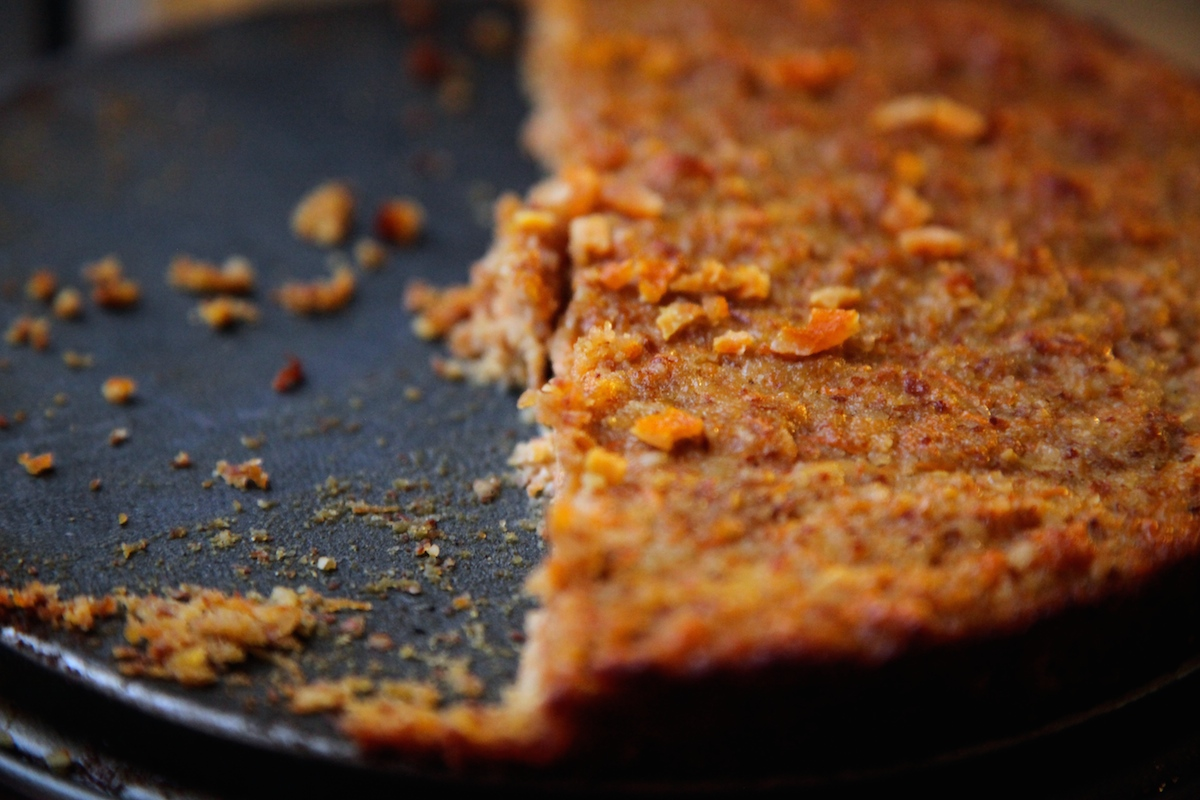 Carrot and Apple Almond Cake with Ginger and Cardamom on Foodie Underground, photo by Anna Brones