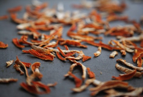 Don't Throw Away Orange Rinds: How to Make Dried Citrus Peel
