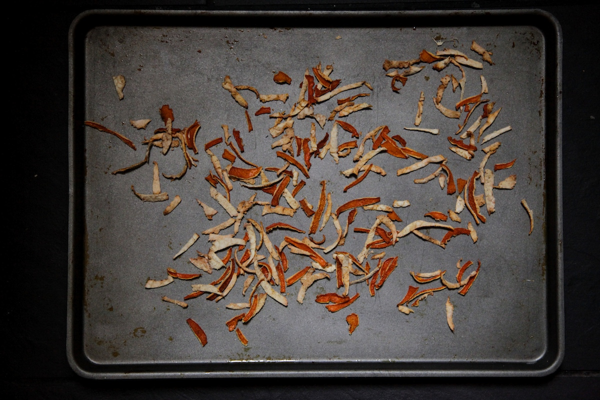 How to Make Make Dried Citrus Peel on Foodie Underground, photo by Anna Brones