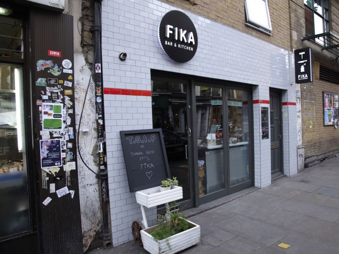 Friday Fika: Goat Cheese and Lingonberry Rye Sandwich (and Favorite Nordic Spots in London)