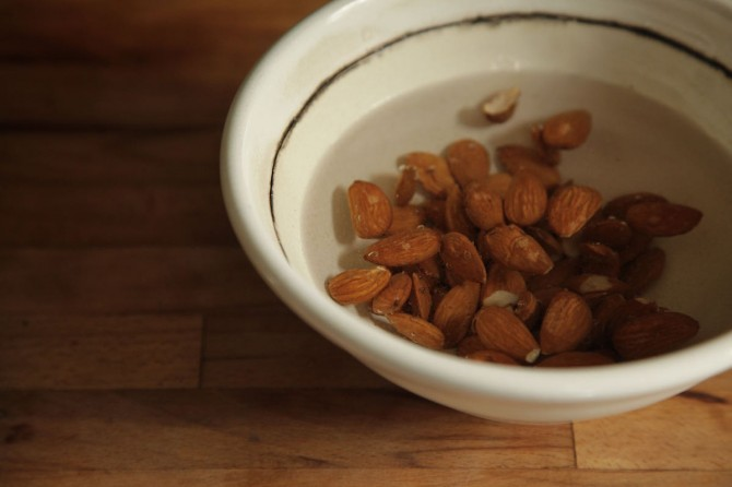 Soaking Almonds by Anna Brones