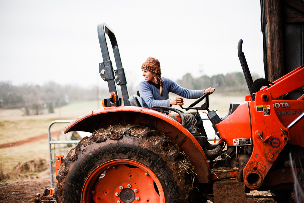 Female Farmer Project on Foodie Underground photo by Audra Mulkern