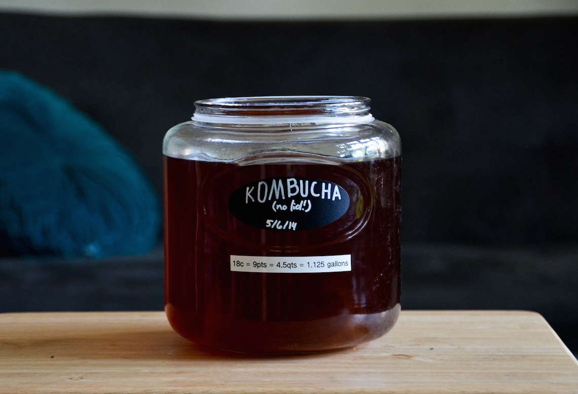 Kombucha 101: How to Brew and What to Use it For on Foodie Underground