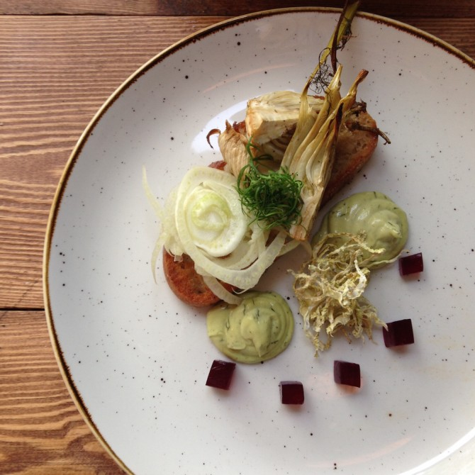 Fennel Dish from Syster Marmelad in Gothenburg