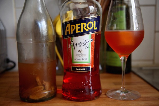 Recipe: Kombucha Aperol Spritz on Foodie Underground