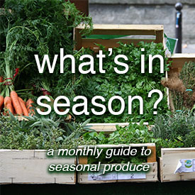 Foodie Underground.What's in Season