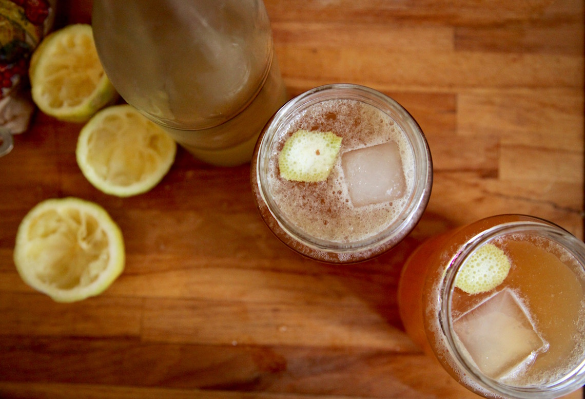 Shandygaff with Homemade Ginger Beer on Foodie Underground
