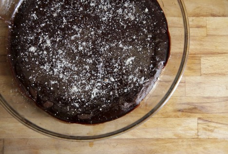 Flourless Chocolate Chipotle Cake with Spicy Ganache