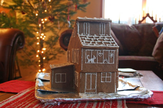 Gingerbread House Side