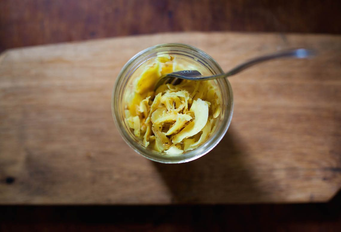 Fermented Ginger Pickles by Anna Brones