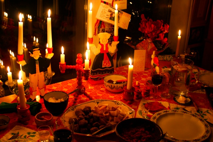 A Traditional Swedish Julbord