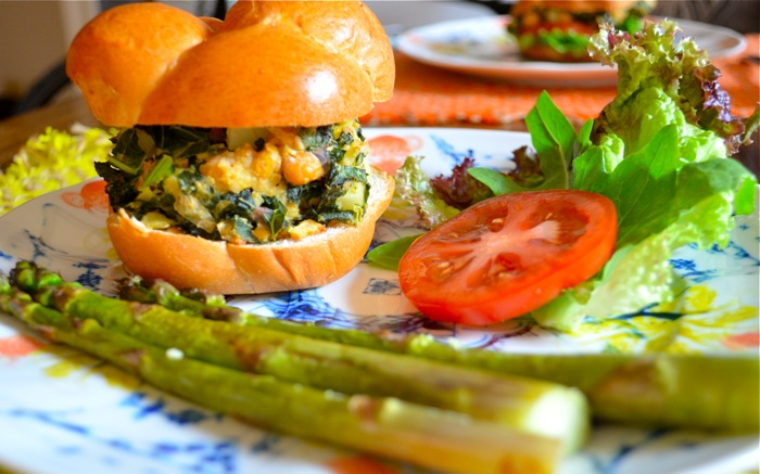 Chickpea Kale Potato Burgers: The Vegetarian BBQ Solution