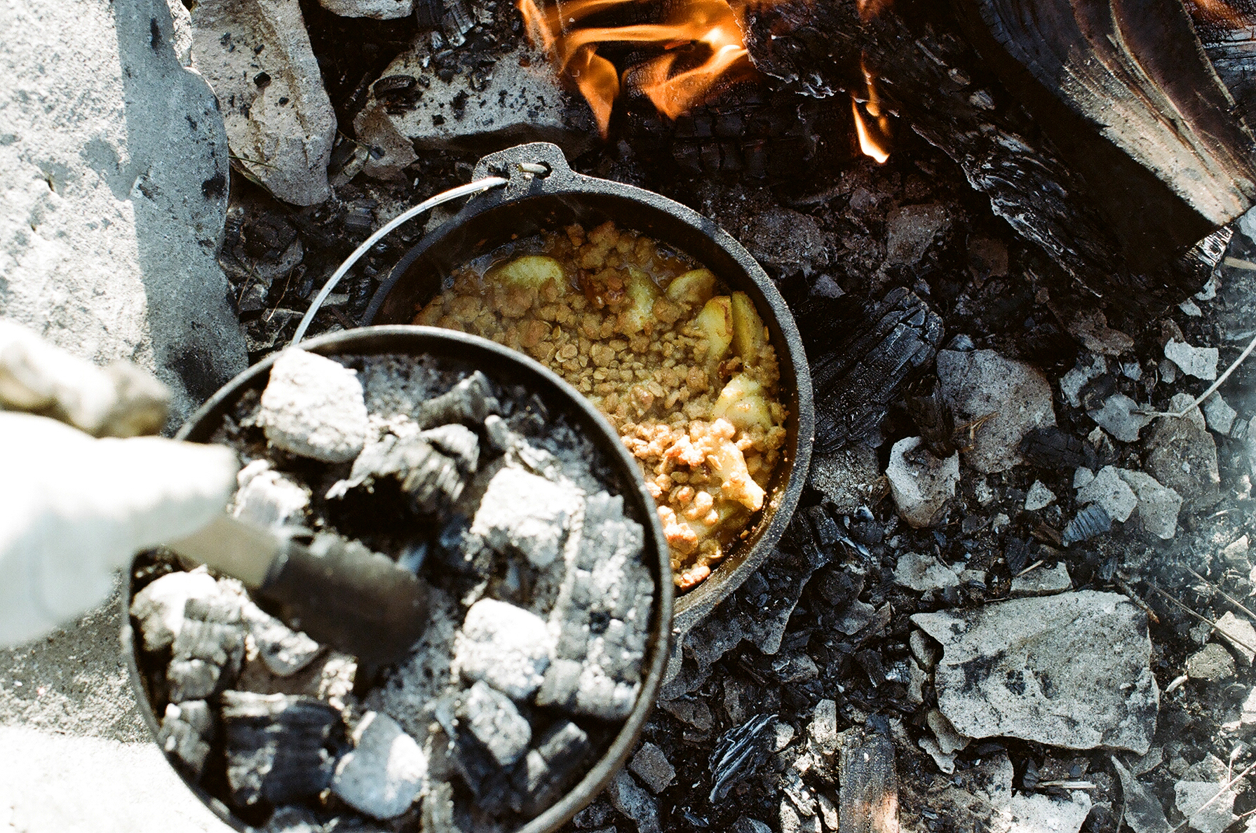 Wholier-Than-Thou: Cooking in the Great Outdoors