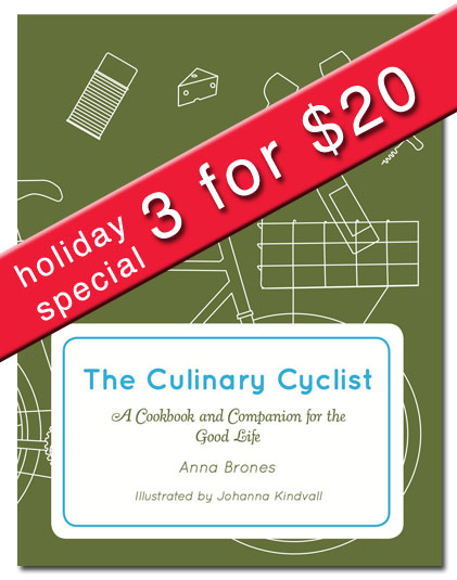 The Culinary Cyclist Holiday Special: Because a Good Present is a Book About Food + Bikes
