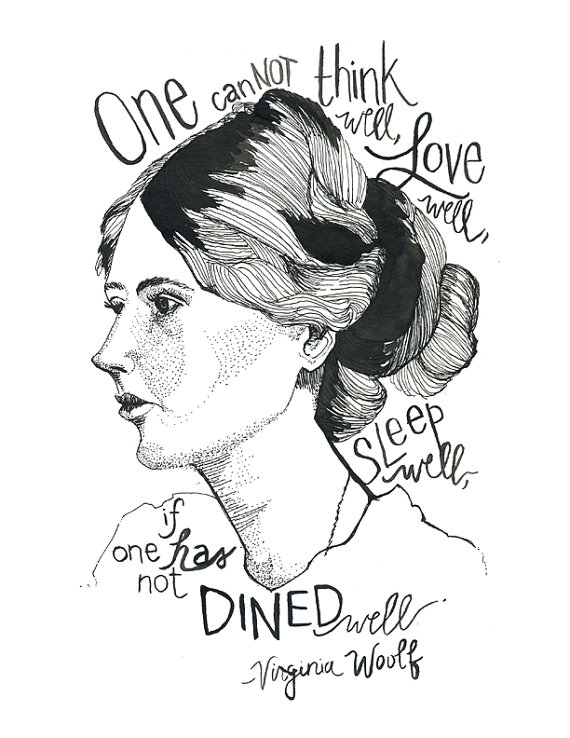 Friday Wisdom: Virginia Woolf on Eating Well