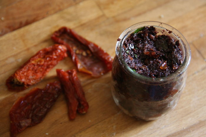 No Recipe Cooking: Kalamata Olive Tapenade
