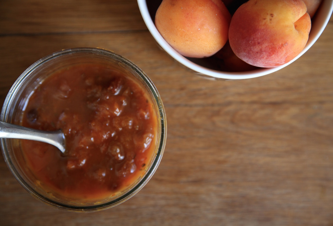 Apricot Honey Chutney on Foodie Underground