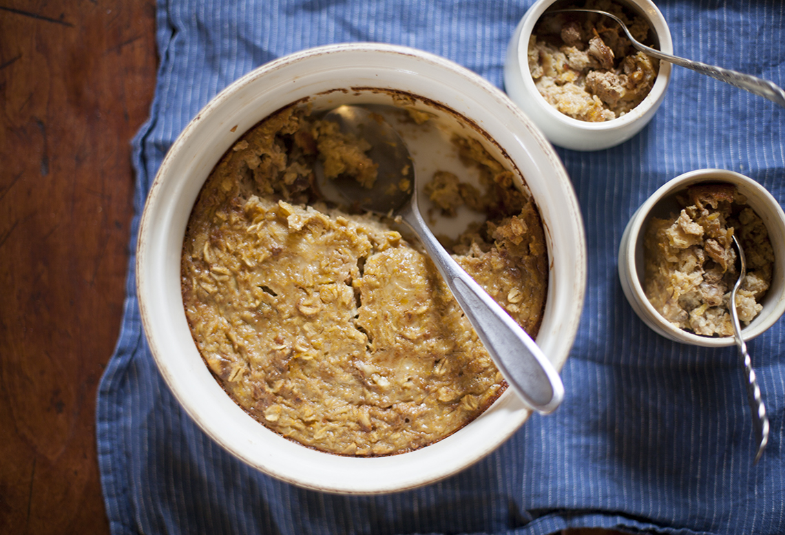 Pumpkin Oatmeal Pudding